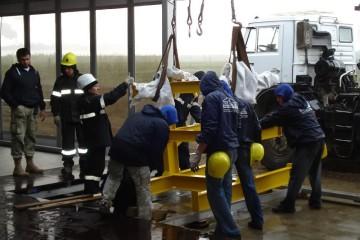 Церемония запуска нефтегазового месторождения